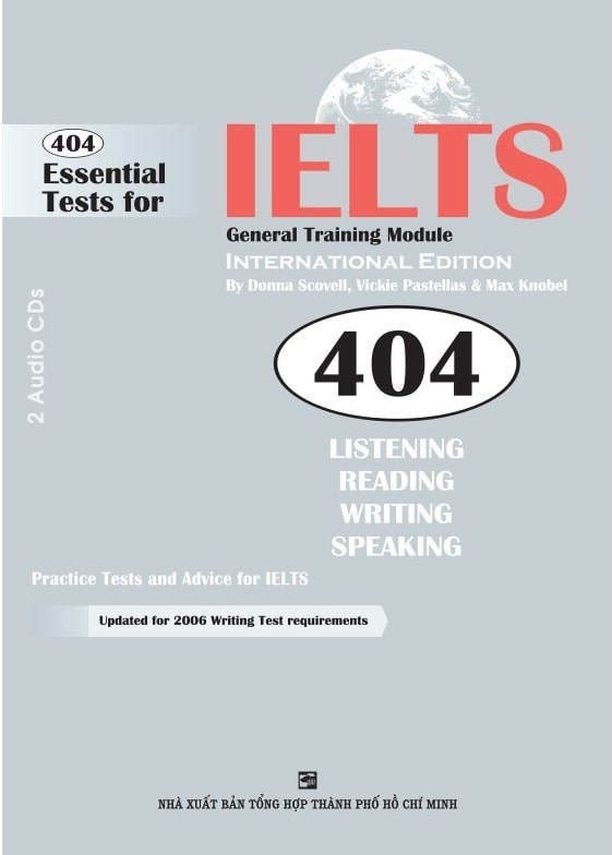 کتاب Study Guide to the 404 Essential Tests for IELTS General Training Module – Workbook