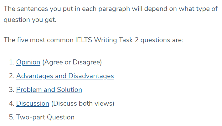 IELTS Writing Task 2, Essay Writing - 2