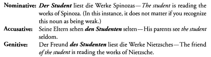 صفت ها و اسم ها در آلمانی